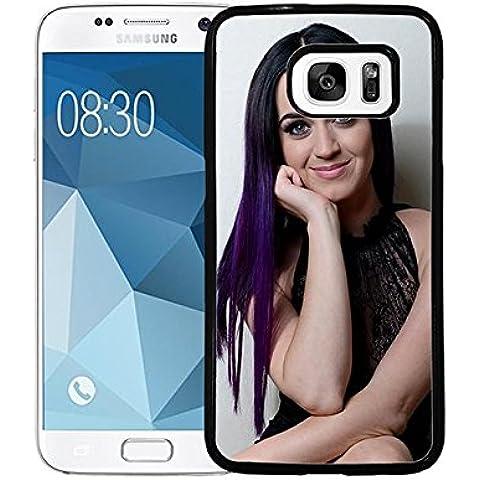 Samsung Galaxy S7 Étui pour téléphone Katy Perry Singer Galaxy S7 Custodia Case Katy Perry Unique Custodia Case for Samsung S7 Katy Perry Phone Cover