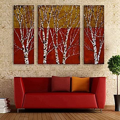 e-home® allungata tela art set filiale decorazione pittura di 3