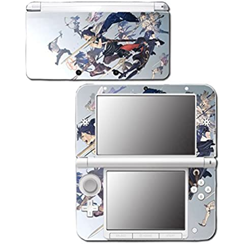 Fire Emblem Marth Roy Awakening Smash Bros Video Game Vinyl Decal Skin Sticker Cover for Original Nintendo 3DS XL System by Vinyl Skin