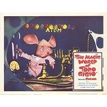 The Magic World of Topo Gigio Poster (11 x 14 Inches - 28cm x 36cm) (1965) Style H