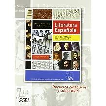 Literatura española: Desde la Edad Media a la actualidad - 9788497784719
