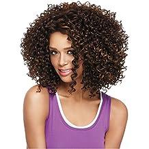 Meisi hairpeluca pelo sintético de alta calidad Productos bobo Tight Curl o Kinky Curl corto pelucas para las mujeres