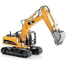El metal superior de la raza muere el tractor del juguete de la construcción del excavador del molde, juguete del excavador con la pala del metal - TR 211D