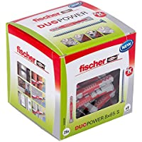 Tacos universales Fischer Duopower, con tornillo, 538256