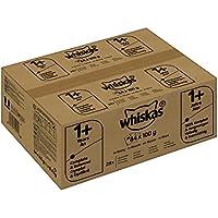 Whiskas Katzen-/Nassfutter Adult 1+ Geflügelauswahl in Sauce, Pute, Geflügel, Huhn (84 x 100g)