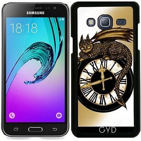 Custodia per Samsung Galaxy J3 2016 (SM-J320) - Tempo Drago by Pezi Creation