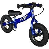 BIKESTAR® Premium 25.4cm (10 pulgadas) Bicicleta sin pedales para pequeños aventureros a partir de 2 años ★ Edición Sport ★ Azul