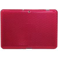 Luxburg® Diamond Design funda protectora para Samsung Galaxy Tab 2 10.1 GT-P5100 en color quarzo rosa, funda carcasa de silicona TPU