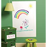 Styleys Whiteboard Sticker Removable Decal for Home/School/Office/College/Study Room/Kitchen (45 x 200 cm) (White)