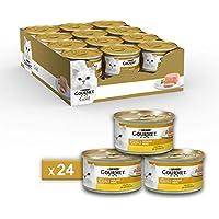 Gourmet Purina Gold Umido Gatto Mousse con Pollo - 24 Lattine da 85 g Ciascuna (Confezione da 24 x 85 g)
