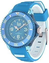 Ice-Watch - ICE aqua Malibu - Montre bleue pour homme avec bracelet en silicone - Chrono - 012736 (Large)
