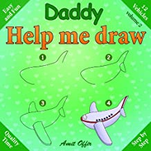 Daddy, help me draw vehicles (English Edition)