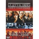 La Ley y El Orden UVE Temporada 4 Serie de TV Version Latina