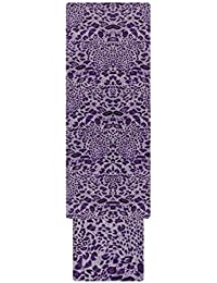 Pal Women's Polyester Unstitched Dress Material (Purple)