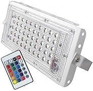 K3 50W LED Rgb Outdoor Light, Pack Of 2, (New_K3)