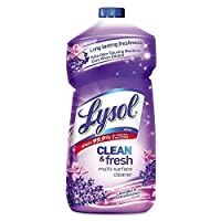 Lysol Power and Fresh All Purpose Cleaner - Pourable Lavender Orchid 40 oz (2-Pack)