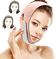 Ealilis Face Slimming Strap, Facial Weight Lose Slimmer Device Double Chin Lifting Belt, Pain Free V-Line Chin