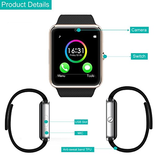 YAMAY® Bluetooth Smartwatch - 6