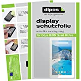 dipos I 2X Schutzfolie matt passend für Odys IEOS Quad 10 Pro Folie Displayschutzfolie