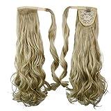 ausgezeichnete Qualität synthetische Clip in Pferdeschwanz 26 Zoll langen lockigen Haar Stück