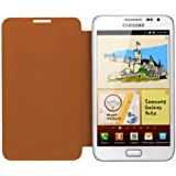 Samsung Flip Cover for Galaxy Note - Orange