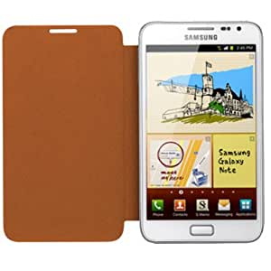 Samsung EFC-1E1C Flip Cover für Samsung Galaxy Note N7000 orange