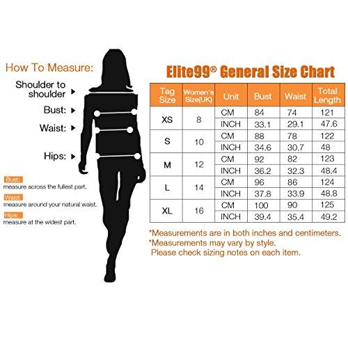 Elite99femmes sans manches Style vintage 1950dos nu robe pour femme pepper point