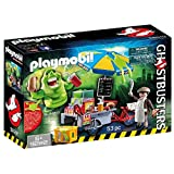 Playmobil 9222 - Slimer E Il Carretto Degli Hot Dog