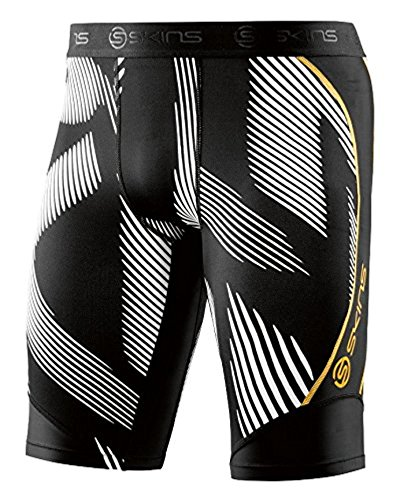 SKINS DNAmic Mens Half Tights Leviathan / Black