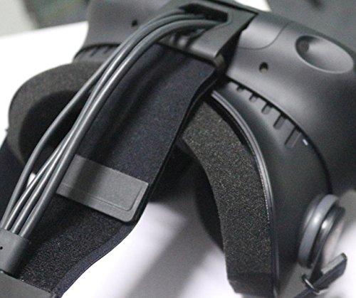 MIDWEC 20 Stück Sets Einmal Verwendbare Hygiene Augen Gesichtsmasken mit Schaumstoffmatte für das HTC VIVE VR Headset