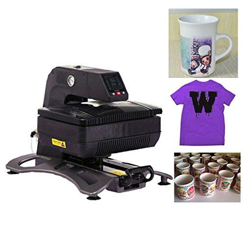 Transferpresse 3D Automatische T-shirt Presse Drucker Druckmaschine Multifunktions Printer Hitze Presse für Tassen und Textilien über Enshey -