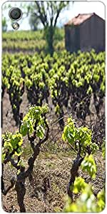 Snoogg Vineyard In The South Of France Designer Protective Back Case Cover Fo...