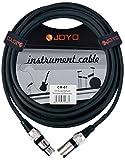 JOYO CM - 07 XLR femelle vers XLR mâle XLR Câble blindé 15 m de longueur