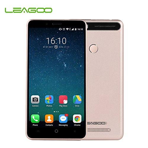 LEAGOO KIICAA POWER Android 7.0 Dual Kamera 4000mAh 5,0 Zoll MT6580A Quad Core 2 GB Speicher 16 GB ROM Fingerabdruck Telefon