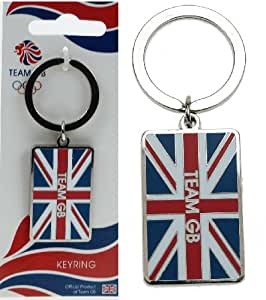 London 2012 Games Memorabilia Metal key Ring Team GB Olympic Union Jack