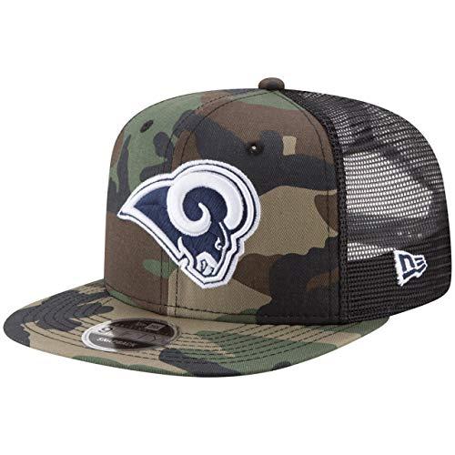 New Era 9Fifty Mesh Snapback Cap Los Angeles Rams Wood camo -
