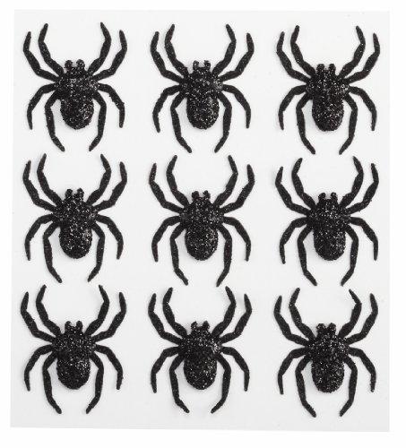 Jolee S Boutique Dimensional Stickers (Jolee 's Boutique Parcel dreidimensionale Aufkleber, Glitzer Spinnen)
