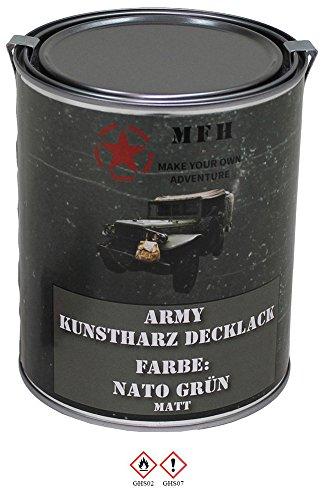 MFH Farbdose Army NATO grün NATO-Grün 1St.