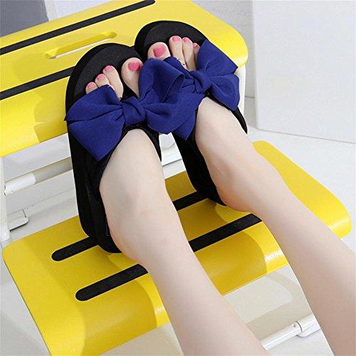 pengweiSandali di estate delle donne inclinano il tallone di pendenza Flip i pattini della spiaggia del piede della clip di modo 5