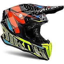 Airoh Casco Helmet Twist Iron, naranja, tamaño L