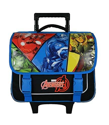 Cartable à Roulettes Avengers Marvel Bleu