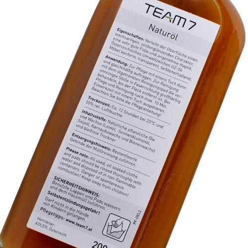 Team7 Pflegemittel Naturöl, 200ml - 2