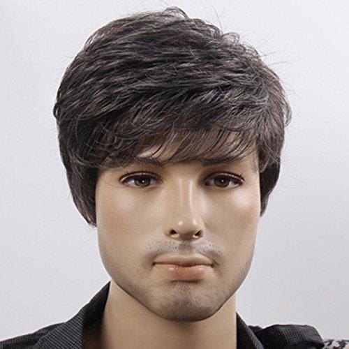 Majik Gents Wigs / Wigs For Men (Black)