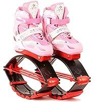 Bambini e adulti, ragazzi e Unisex da salto Fitness Jumping Shoes-Scarpe da bambino, Bounce salti