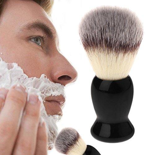 sunhoyu Premium Blaireau de rasage à raser BearBear Brosse de rasage avec manche en plastique et outils de coiffure professionnels