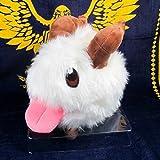 YOIL Vale la pena Comprar Juego de Personajes Cabra Conejo de Peluche de Juguete Poro para niños Cumpleaños Cosplay Juguetes