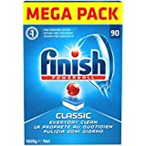 Finish Classic Nettoyant 90 Tabs, 1629 Gr Normal