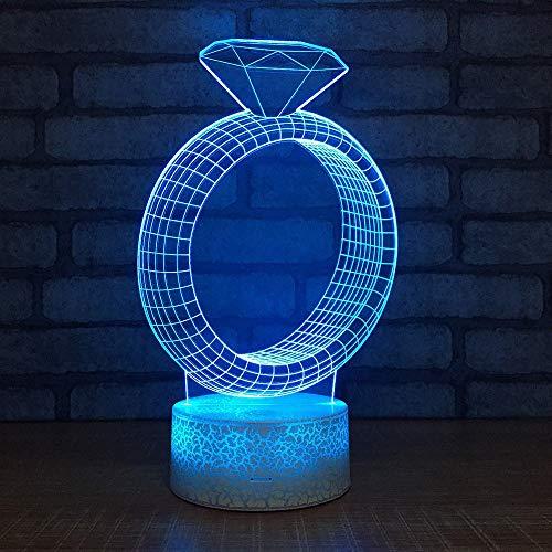 Preisvergleich Produktbild xiadsk 3D - Nachtlicht USB - Charged - Druck Mond LED Tischlampen Touch / Fernbedienung Dim Mable Schreibtisch Schlafzimmer - Dekor Luminar ia Licht Creative Kids Geschenk 100mm