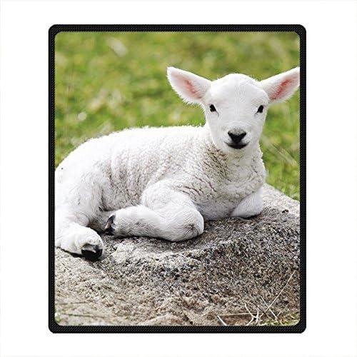 'Pecore DOUBEE Custom morbida e calda Coperta di di di pile coperta da picnic Festival al aire libre 50 x 60   50  x 60  E | Autentico  | Altamente elogiato e apprezzato dal pubblico dei consumatori  65d013