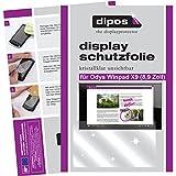 dipos I 2X Schutzfolie klar passend für Odys Winpad X9 22,6 cm (8,9 Zoll) Folie Bildschirmschutzfolie
